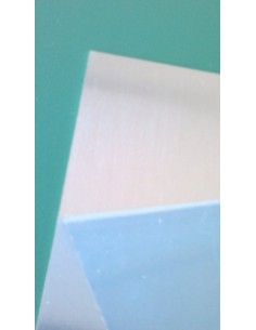 Planchas Zinc 0,8 mm Semipulido 25 X 16.5